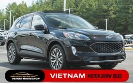 Ford Escape 2020 về Việt Nam với 2 phiên bản, dùng động cơ Ecoboost mới