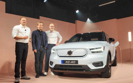 Ra mắt Volvo XC40 Recharge - Xe sang thuần điện chờ ngày về Việt Nam