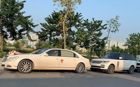 Dàn xe sang và siêu sang đắt tiền góp mặt trong đám cưới tại Hạ Long