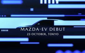 Mazda tiếp tục tung teaser xe điện đầu tiên, gián tiếp xác nhận là SUV