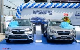 Subaru đồng khai trương 2 showroom mới tại khu vực phía Nam
