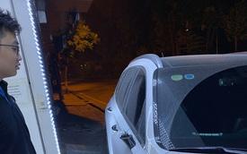 Chủ Hyundai Santa Fe tại Hà Nội lặng người nhìn chiếc xe qua camera an ninh