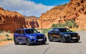 BMW X5 và X6 đồng loạt ra mắt phiên bản M với động cơ mới mạnh gần 600 mã lực