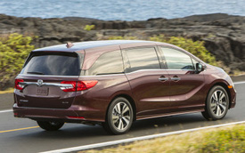 Honda Odyssey lần đầu lộ diện phiên bản mới, cạnh tranh Kia Sedona