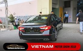 Honda Accord 2019 lăn bánh vào triển lãm, sẵn sàng ra mắt khách Việt với giá khoảng 1,2 tỷ đồng