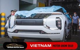 Tháo bạt mẫu concept GT-PHEV - Át chủ bài của Mitsubishi tại triển lãm VMS 2019
