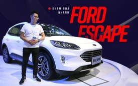 """Khám phá nhanh Ford Escape 2019 - """"Porsche Macan"""" bình dân chỉ chờ giá để cạnh tranh Honda CR-V và Mazda CX-5"""