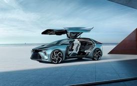 Ra mắt Lexus LF-30: Mỗi bánh một mô tơ, cabin siêu hiện đại, cửa cánh chim sexy