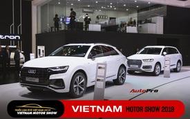 Ra mắt đồng loạt 6 xe Audi mới: A6, A7 Sportback, A8L, Q2, Q3, và Q8 khuấy động thị trường xe sang bạc tỷ cuối năm