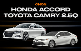Cân sức Honda Accord vs Toyota Camry: Cuộc chiến sedan hạng D của Nhật tại Việt Nam