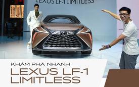 Khám phá nhanh Lexus LF-1 Limitless: Toàn những thiết kế khó chê nhưng không dễ đưa vào thương mại để bán