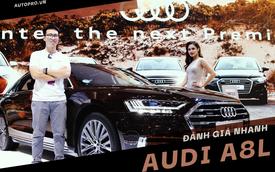 Tìm hiểu nhanh Audi A8L mới về Việt Nam - Quyết đấu BMW 7-Series và Mercedes-Benz S-Class