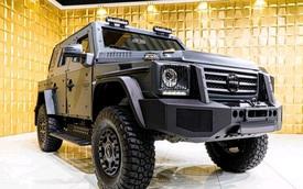 Mercedes-Benz G500 4x4 bọc thép cho đại gia mê xe tăng nhưng chỉ đi được ô tô