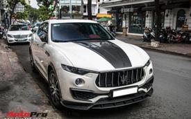 Đại gia Đăk Lăk chi hàng trăm triệu đồng độ Maserati Levante S với gói Larte Design hàng hiếm