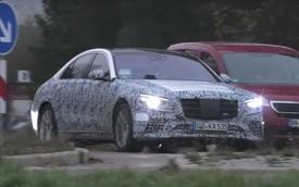 Mercedes-Benz S-Class tiếp tục lộ mặt chạy thử với trang bị mới