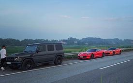 Bộ đôi Chevrolet Corvette C7 và Mercedes-AMG G55 rủ nhau 'phượt' Tây Bắc