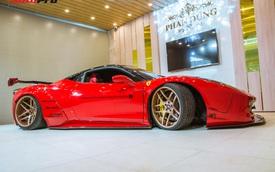 Chủ Ferrari 458 Italia độ Liberty Walk độc nhất Việt Nam chi 2 tỷ đồng để tân trang xe