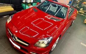 Mỗi năm chỉ chạy hơn 4.600 km, hàng hiếm Mercedes-Benz SLK bán rẻ bằng nửa giá mua mới