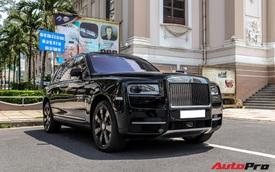 Rolls-Royce Cullinan giá đồn đoán 30 tỷ bất ngờ xuất hiện trên phố Sài Gòn