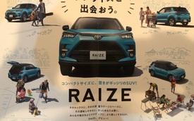 Lộ ảnh và thông tin mới về Toyota Raize - Anh em RAV4 thay thế Rush ra mắt trong tuần sau