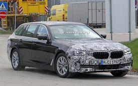 Góc thở phào: BMW 5-Series 2020 lộ mặt thử nghiệm, tản nhiệt vẫn thon thả như trước