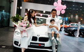 Hoài Anh Mango sắm BMW 320i đúng đợt giảm giá 275 triệu đồng