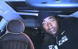 Đột nhập vào xe MINI Cooper, tên trộm bị ghi lại hình ảnh khiến dân tình không nhịn được cười