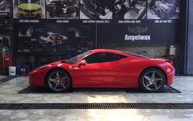 Chiếc Ferrari 458 Italia với hành tung bí ẩn bất ngờ xuất hiện tại Hà Nội, garage còn gây chú ý hơn