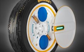 Continental phát triển lốp thông minh tự bơm lại khi thiếu hơi, hoàn hảo cho các chủ xe dư tiền nhưng lười chăm