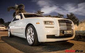 Rolls-Royce Ghost biển số khủng của đại gia Đà Nẵng bất ngờ xuất hiện tại Sài Gòn