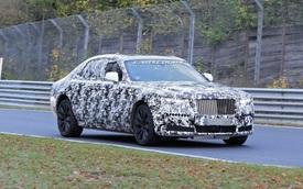 Rolls-Royce Ghost thử khung gầm mới tại 'địa ngục xanh' Nurburgring