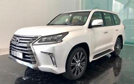 Lexus LX 570 phiên bản 2020 về Việt Nam: Thêm công nghệ an toàn, giá tăng cả trăm triệu đồng