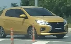 Mitsubishi Mirage mới với bộ mặt Xpander là đây