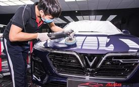 Chủ nhân chi hàng chục triệu đồng làm đẹp VinFast Lux A2.0 tại Hà Nội