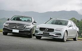 Cùng giá hơn 2,1 tỷ đồng, chọn Volvo S90 Inscription 2020 hay Mercedes-Benz E 200 2019?