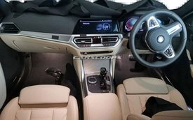 Đây là nội thất BMW 4-Series cho những ai muốn mua 3-Series nhưng ưa thiết kế thể thao hơn