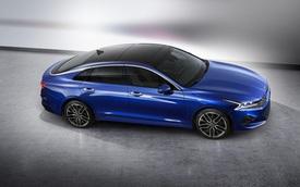 """Kia Optima tiếp tục tung ảnh thế hệ mới """"chất như nước cất"""", đủ sức đọ Toyota Camry"""
