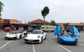 Cường 'Đô-la', trưởng đoàn Car Passion và đại gia bí ẩn cầm lái siêu xe lên Sapa