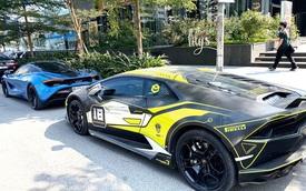 Mua Lamborghini Huracan chưa lâu để tham gia Car Passion, đại gia Nam Định đã bán ra thị trường xe cũ
