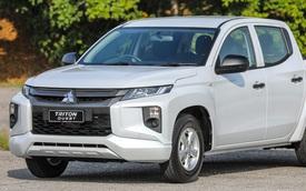 Mitsubishi Triton ra mắt bản gầm thấp 'bán tải lai sedan' với mức giá siêu rẻ
