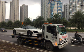 Sau gần 1 tuần khui công, McLaren 720S Spider đầu tiên tại Việt Nam bất ngờ xuất hiện tại Hà Nội
