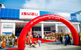 Isuzu mở showroom xe tải thứ 19, tham vọng lớn nhất Việt Nam