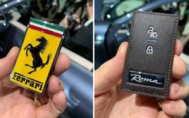 Siêu xe Ferrari Roma lộ ảnh chìa khoá, đảm bảo ai nhìn qua cũng biết bạn sở hữu xe gì