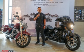 Harley-Davidson ra mắt dòng Touring mới tại Việt Nam - giá gần bằng chiếc Toyota Camry