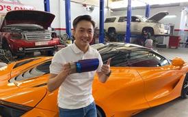McLaren 720S của Cường Đô-la nâng cấp đồ chơi hàng thửa
