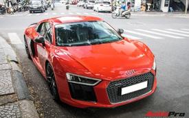 Audi R8 V10 Plus của thiếu gia Phan Thành bất ngờ tái xuất trên phố Sài Gòn