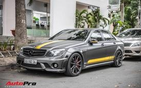 Mercedes-Benz C63 AMG 2009 độc nhất Việt Nam được chào giá hơn 1 tỷ đồng
