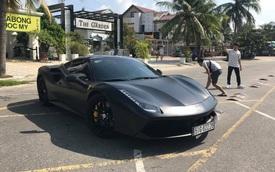 Ferrari 488 GTB đen nhám độc nhất Việt Nam về tay dân chơi Đà Nẵng