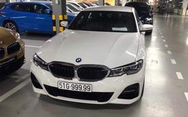 Chủ xe BMW 330i 'rinh' biển ngũ quý 9, nhiều người đồn đoán giá trị tấm biển số lên tới cả tỷ đồng