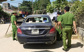 Lộ diện chủ nhân xe Mercedes bỏ bên đường với nhiều vết máu